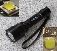 *Weltneuheit* Ultrafire C8 Cree XM-L2 U3 5M Led Taschenlampe 3000 lm 4A - 2017