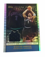 2002-03 Topps Jersey Edition #JECB Carlos Boozer Jersey RC Cleveland Cavaliers