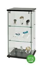 "Display Case Clear Countertop 12 ¼"" W x 14 ¼"" D x 27 ¼"" H Jewelry Lock"