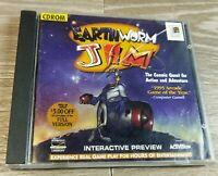 Earthworm Jim Activision PC CD-ROM Windows 95 Complete - Tested