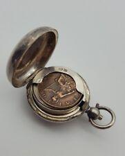 Antique Sterling Silver Sovereign Coin Holder Birmingham Hallmarked 1912