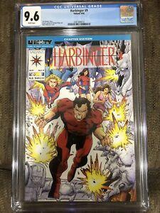 Harbinger 9 CGC 9.6 1992 Direct Market Edition DM Valiant Comics Unity Part 16