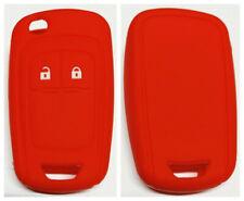 RED 2 BUTTON  CAR FLIP KEY COVER CHEVROLET HOLDEN COLORADO AVEO CRUZE TRAX
