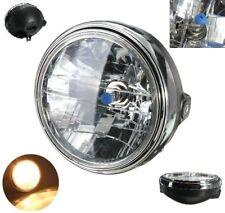 7inch 12V 35W H4 Motorcycle Headlight Bulb Rear Mount Head Lamp H4 Bulb DC 12V