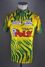 Polti Team vintage Santini bike Rad Trikot Gr XL 52cm jersey cycling N5