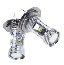 2X H7 SUPER WHITE CREE 499 LED MAIN DIPPED BEAM 30W HEADLIGHT BULBS LAMP LIGHT