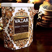 Vazar IRISH CREAM TEA COCKTAIL -Black Tea infused with Irish Cream liquor flavor