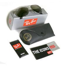 Ray-Ban Chromance Polarized Silver Mirror Polarized  Sunglasses RB3543 59 mm