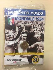 MEDAGLIA MONDIALE 1934 N30 - CAMPIONI DEL MONDO - LA GAZZETTA DELLO SPORT