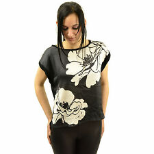 Satin Floral Tops & Shirts for Women