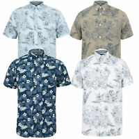 Mens Hawaii Shirt Tokyo Laundry Floral Print Short Sleeved FERMONT Beach MALAYAN