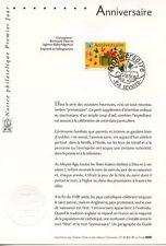 FDC / PREMIER JOUR / ANNIVERSAIRE / SEVRIER 2002