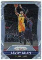 2015-16 Panini Prizm Silver Prizm Refractor #127 Lavoy Allen Pacers