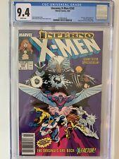 Uncanny X-Men #242 CGC 9.4 (1989) - Newsstand - X-Factor app
