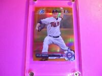 2017 Bowman Draft Chrome ORANGE REFRACTOR #d /25 Ryley Widell #BDC-64 Rookie 1st