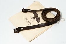 Hawkesmill Kensington Leather Camera Strap (Brown) - 110cm