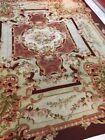 NO RESERVE Rare Antique 19th Century French Aubusson Carpet, France