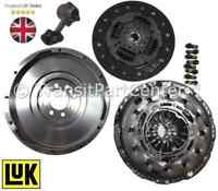 SOLID FLYWHEEL GENUINE LUK CLUTCH & CSC FITS FORD TRANSIT MK7 2.2 5 SPD 2006 ON