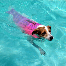 Dog Life Jacket Medium Large Preserver Swim Safety Floatation Vest for Dogs S-L
