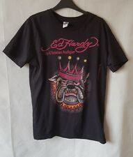 Ed Hardy Queen Bulldog Top By Christian Audigier Size Medium