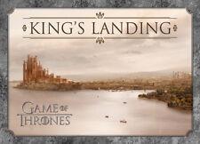 Game Of Thrones King's Landing Carte postale 10cm x 15cm TV Produit Officiel