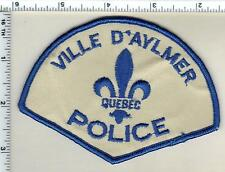 Ville D'Aylmer Police (Canada) Shoulder Patch from the Early 1980's
