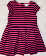 Polo Ralph Lauren Baby Girl Short Sleeve Dress (Pink/Navy)-Size 12M