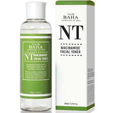 Facial Toner Niacinamide 5% HA Hyaluronic Acid B5 Face Pore Reducer Acne 200ml