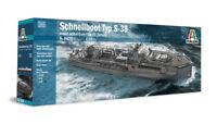 Italeri 5620  - 1/35 WWII Deutsches Schnellboot Typ S-38 - Neu