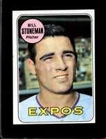 1969 TOPPS #67 BILL STONEMAN EX EXPOS  *XR17873
