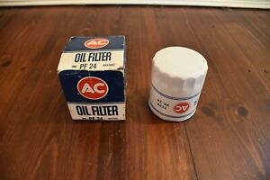 NOS GM # 6437462 Early PF-24 Oil Filter Embossed **MINT** AC-Delco