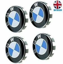 BMW Alloy Wheel Centre Caps 68mm 1 3 5  6 7 Series E F M X Z Set of 4... GENUINE