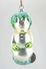 Patricia Breen 1996 Christmas Ornament Hobe Sound Snowman Item # 9626
