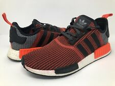 """Adidas NMD """"Lush Red"""" Size 12 Core Red Black Grey S79158."""