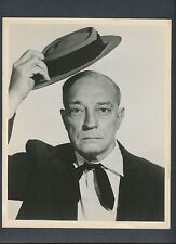 NICE BUSTER KEATON PORTRAIT - 1960 ON TOUR WITH THE NATIONAL PHOENIX THEATRE