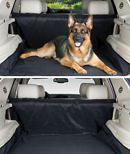 Black Rear Seat Pet Dog Mat Liner Water Resistant Dust Dirt Protector For BMW
