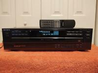 """SONY 5 Disc CD Player CDP-C345 with Remote """"SOLD AS IS"""""""