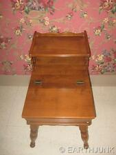 Ethan Allen Step End Table Heirloom Nutmeg Maple Made in America  10 8582