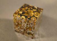 Brahin meteorite pallasite Gem-like Olivine grains Amazing CUBE