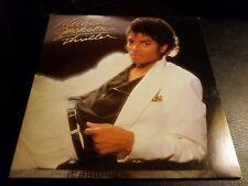 Micheal Jackson Thriller Vinyl Record LP First Original Pressing