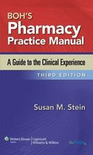 Boh's Pharmacy Practice Manual: A Guide to the Clinical Experience, , Very Good