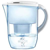 Brita Fjord Cool 2.6L Water Filter Jug, White + 1 Maxtra Filter Cartridge