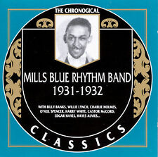 MILLS BLUE RHYTHM BAND 1931-32 CLASSICS CD NEW SEALED LONG OUT OF PRINT