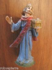 Statuina presepe vintage crib statue italy '60 re magio magi king magician magus