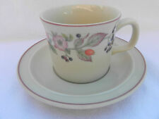 Wedgwood ROSEBERRY TEA CUP & SAUCER, Excellent.