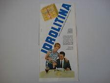 advertising Pubblicità 1963 IDROLITINA GAZZONI