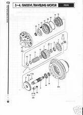 Kawasaki Hydraulic/Hydrostatic  GM35VL Roller 03.5X27.8