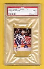 Wendel Clark 1992 Humpty Dumpty Hockey Card PSA 9 MINT