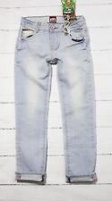 """Vingino jeans aderenti """" ANSELMO """" taglia 8/EU 128 LUMINOSO spiaggia NUOVO"""