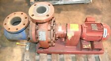 Armstrong 4x3x8 4030bf Base Mounted Suction Pump Withdiffuser 3ph 2hp 30gpm